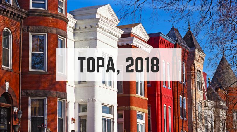 2018 TOPA updates